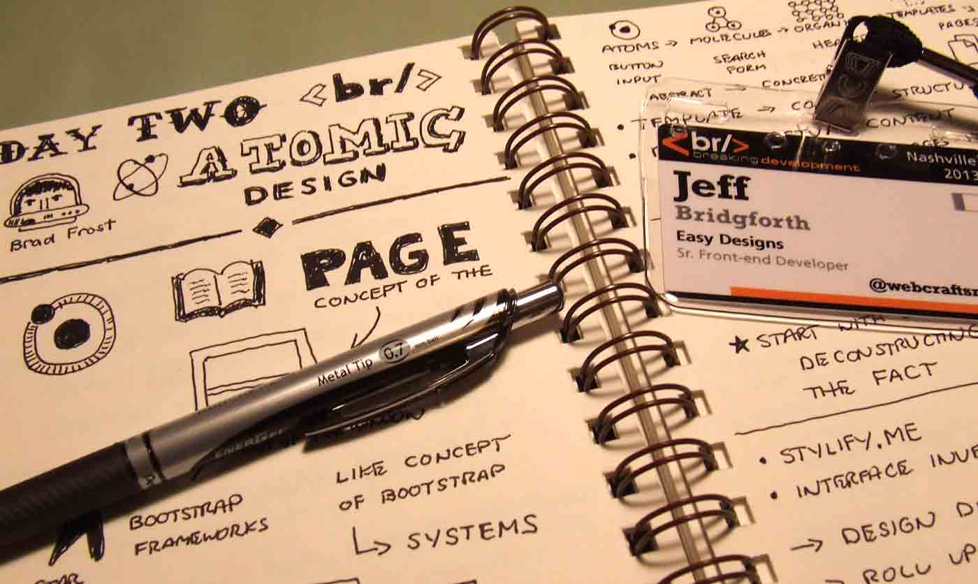 Sketchnotes from BDConf