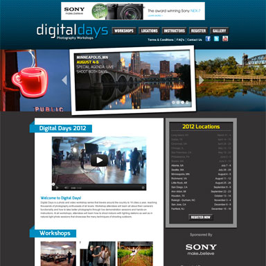 Digital Days Photography Workshops