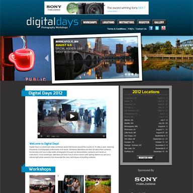 Digital Days Photography Workshops
