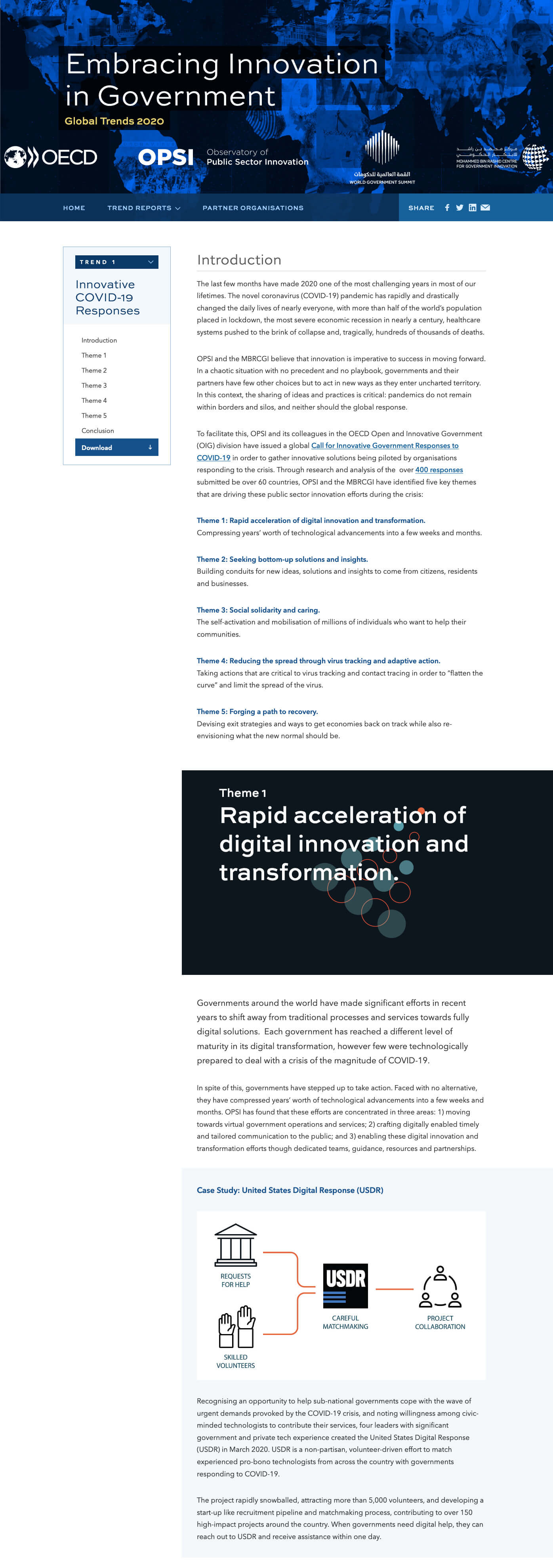 Embracing Innovation in Government: Global Trends 2020