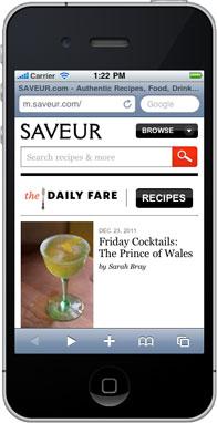 Saveur Mobile