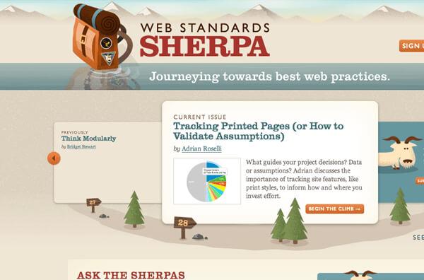 Web Standards Sherpa : A Case Study
